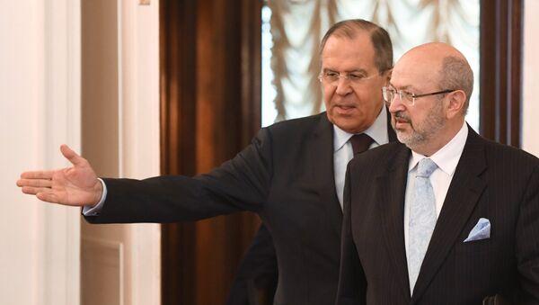 Sergej Lavrov a Lambert Zannier - Sputnik Česká republika