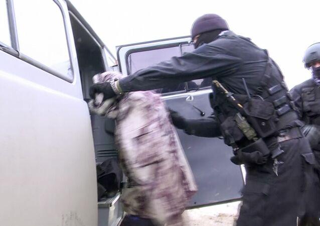 Zadržení přívrženců IS na Sachalinu