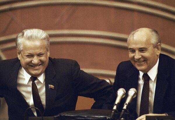 První prezident Ruské federace Boris Jelcin - Sputnik Česká republika