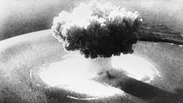 Jaderný výbuch. Ilustrační foto - Sputnik Česká republika