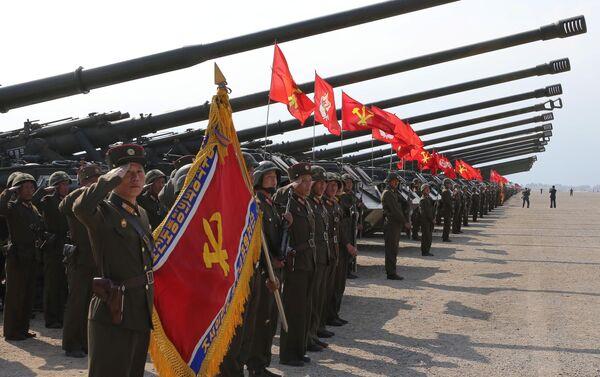 Vojenská cvičení při příležitosti 85. výročí založení KLA - Sputnik Česká republika