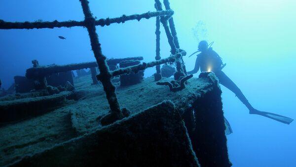 Potopená loď - Sputnik Česká republika