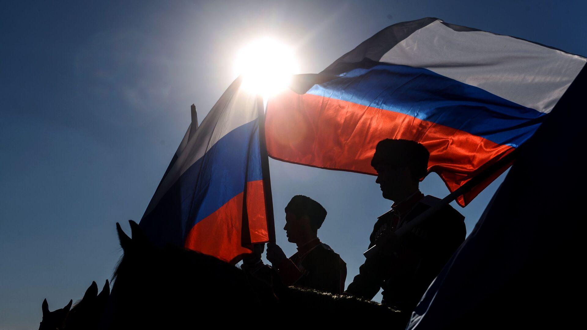 Ruská vlajka - Sputnik Česká republika, 1920, 05.05.2021