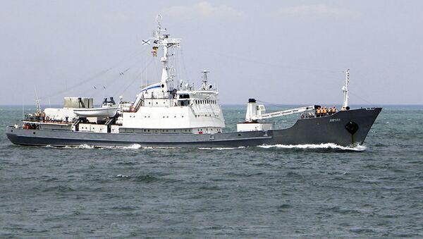 Výzkumná loď ruské Černomořské flotily Liman - Sputnik Česká republika