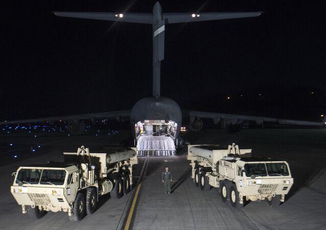 Rozmístění amerického systému PRO THAAD v Jižní Koreji