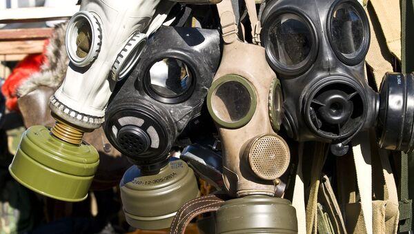 Plynové masky - Sputnik Česká republika