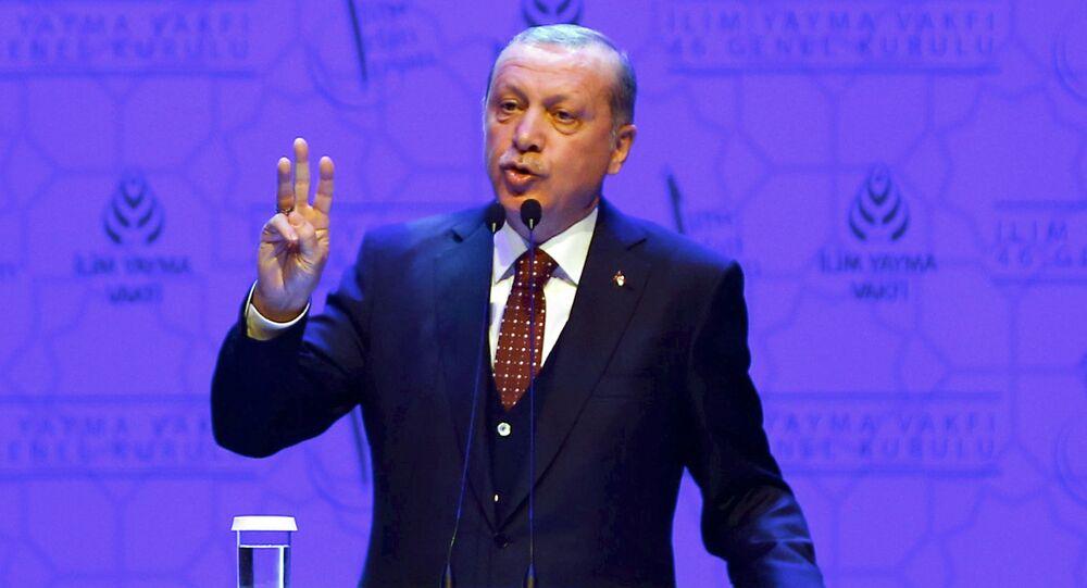 Turecký prezident Recep Tayyip Erdogan