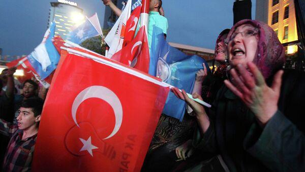 Volby v Turecku - Sputnik Česká republika