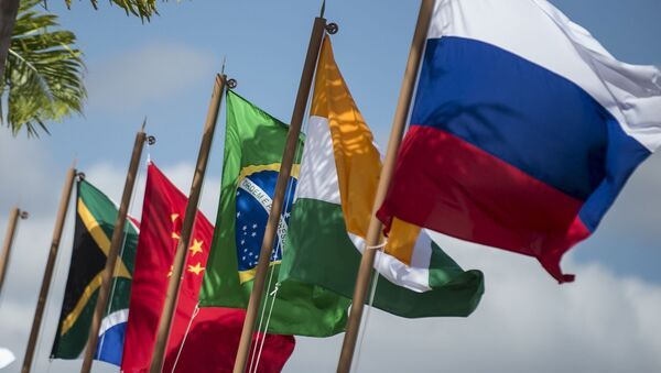 Vlajky států BRICS - Sputnik Česká republika