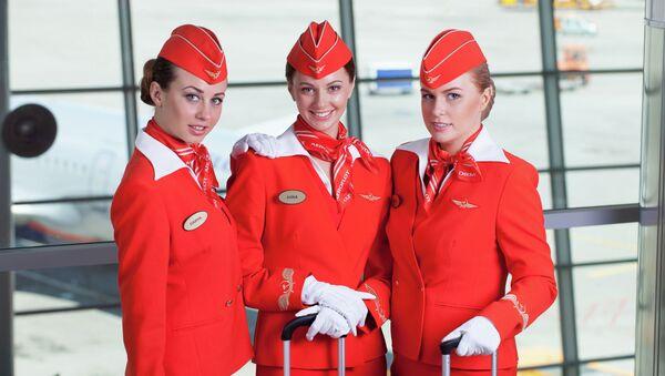 Letušky Aeroflotu: tvář ruské letecké společnosti - Sputnik Česká republika