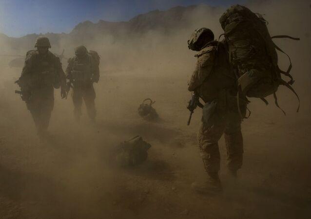Američtí výsadkáři v Afghánistánu