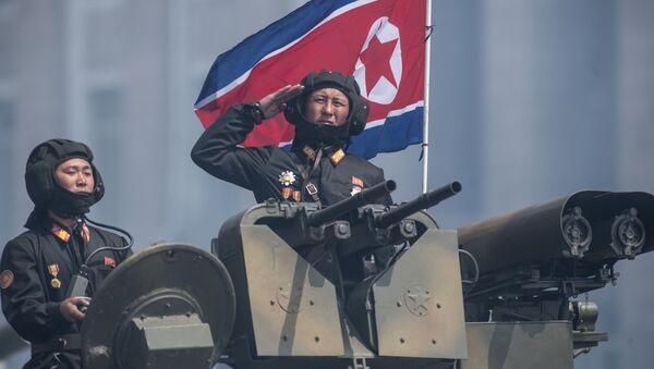 Severokorejští tankisté - Sputnik Česká republika