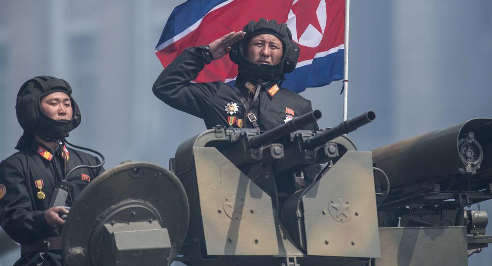 Severokorejští tankisté