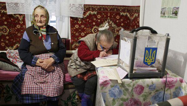 Ukrajinští důchodci - Sputnik Česká republika