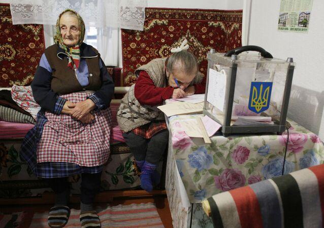 Ukrajinští důchodci