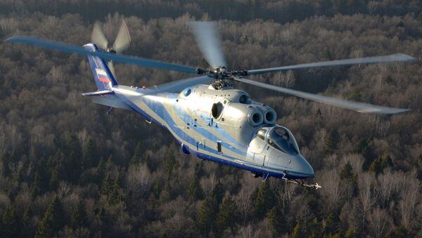 Vrtilník s laboratoří Mi-24K - Sputnik Česká republika