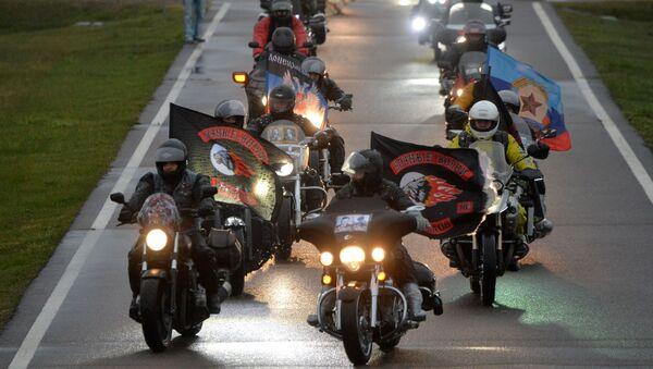 Ruské motorkáře z klubu Noční vlci - Sputnik Česká republika