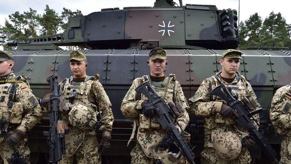 Vojáci v Němesku - Sputnik Česká republika