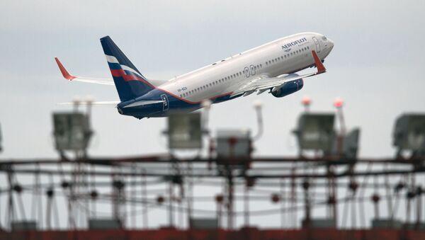 Boeing 777 společnosti Aeroflot - Sputnik Česká republika