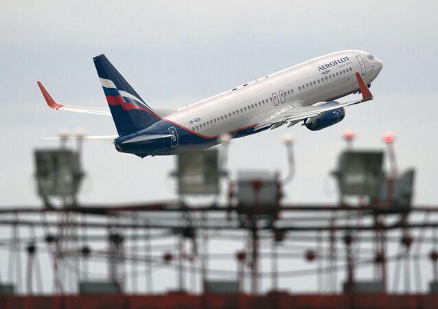 Boeing 777 společnosti Aeroflot