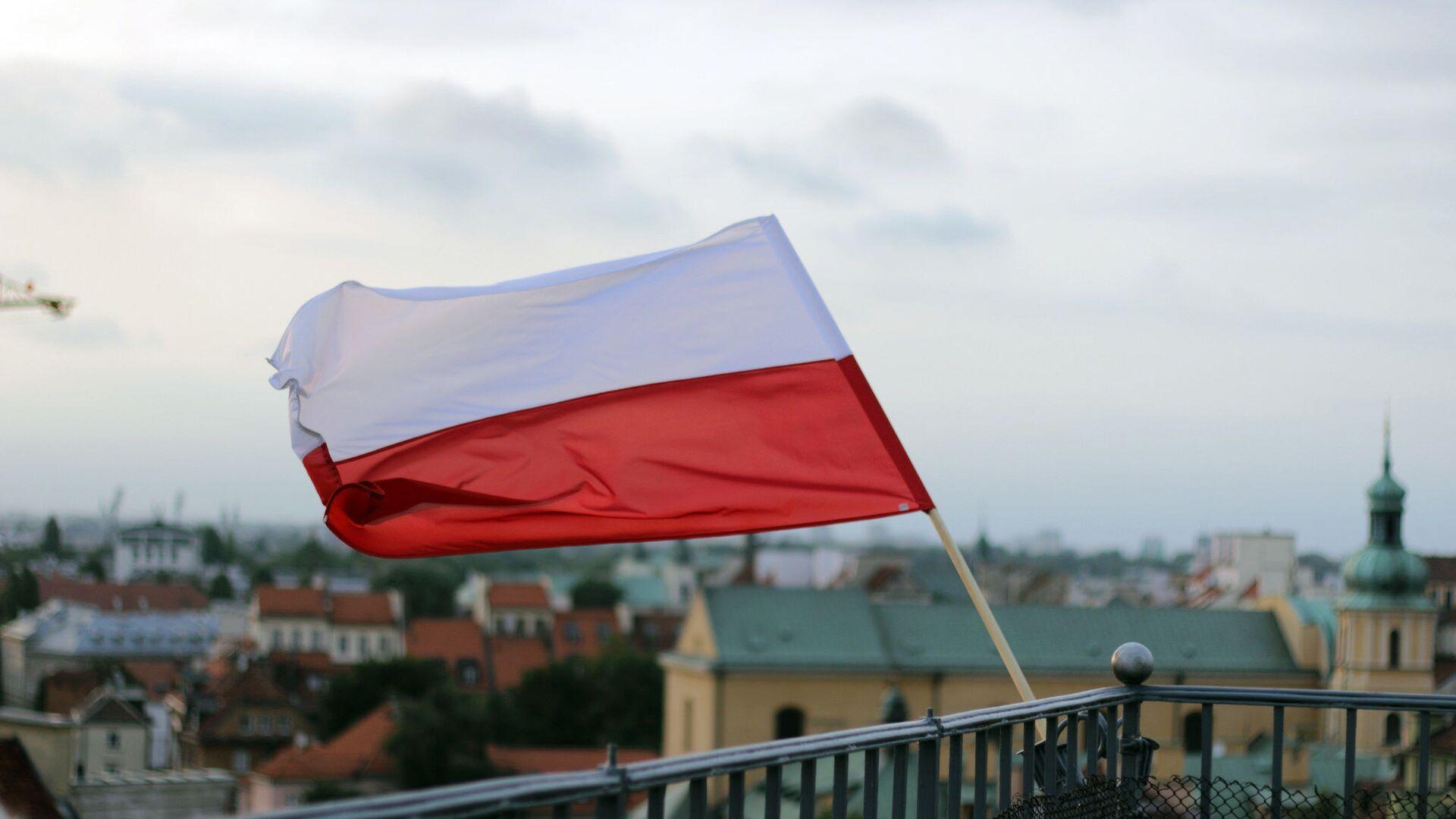 Polská vlajka - Sputnik Česká republika, 1920, 26.05.2021