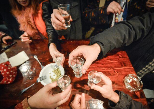 V moskevském baru