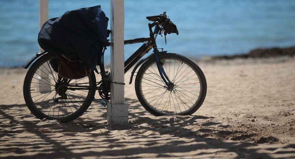 Kolo na pláži