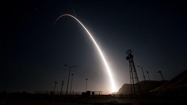 Zkouška mezikontinentální rakety Minuteman III - Sputnik Česká republika
