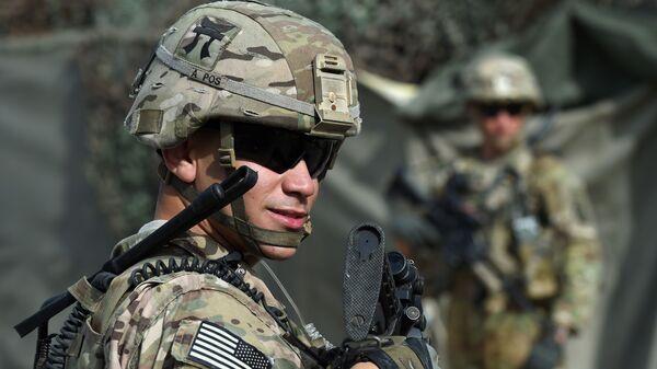 Американский военнослужащий в Афганистане - Sputnik Česká republika