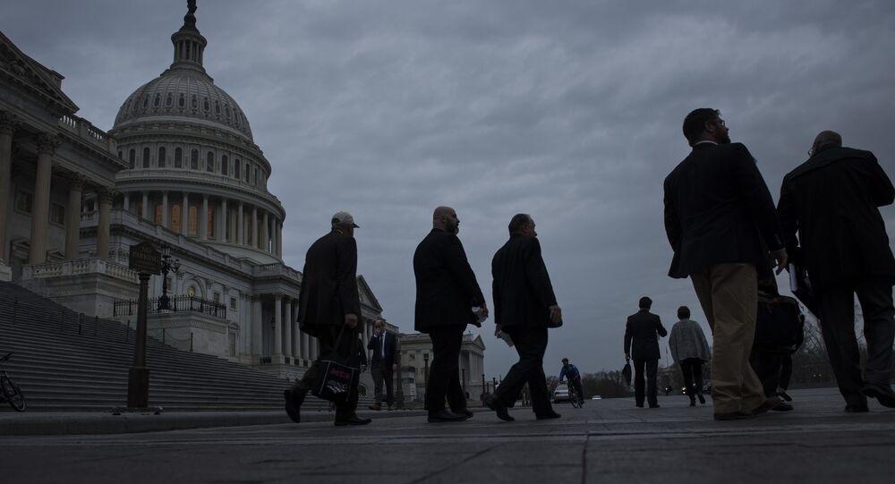 Budova Kongresu USA ve Washingtonu
