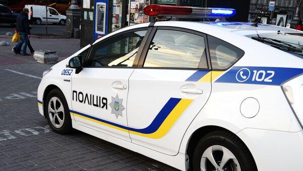 Vůz ukrajinských policistů - Sputnik Česká republika