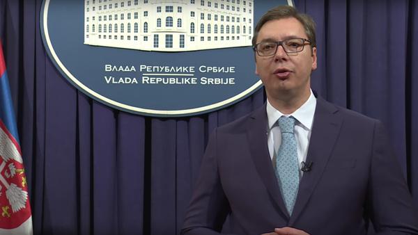 Srbský premiér blahopřál Rusům ke Dni vítězství v ruštině - Sputnik Česká republika