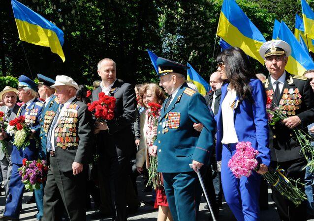 9. květen v Kyjevě