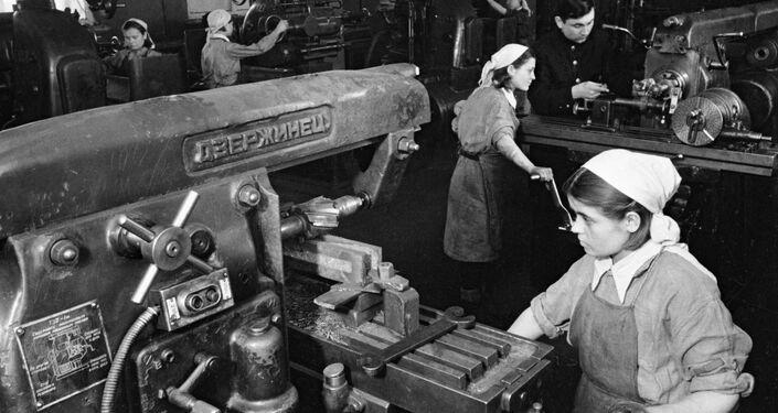 Tulská strojírna v roce 1944