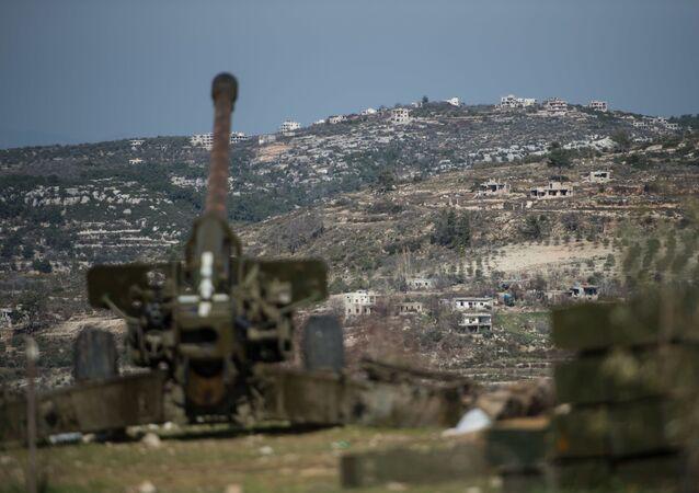 Syrská armáda v Idlibu