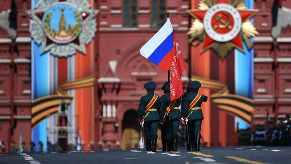 Generální zkouška Přehlídky vítězství v Moskvě - Sputnik Česká republika