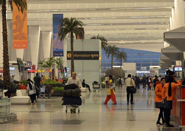 Letiště v Novém Dillí