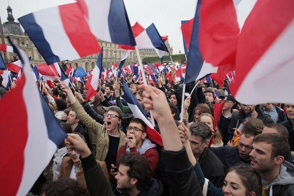 Nový francouzský prezident Emmanuel Macron - Sputnik Česká republika