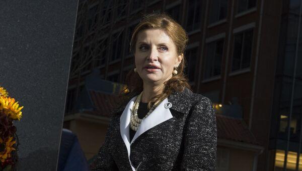 Manželka ukrajinského prezidenta Marina Porošenková - Sputnik Česká republika