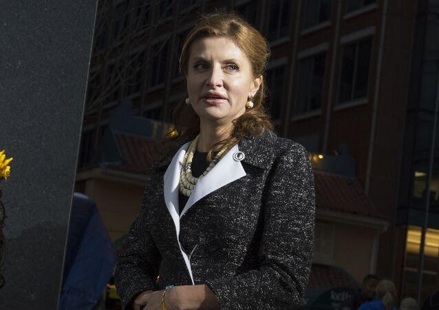 První dáma Ukrajiny Marina Porošenková