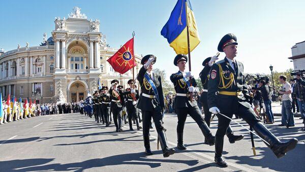 Oslavy 9. května na Ukrajině. Archivní foto - Sputnik Česká republika