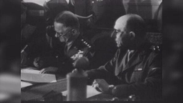 Kapitulace Německa. Archivní záběry - Sputnik Česká republika