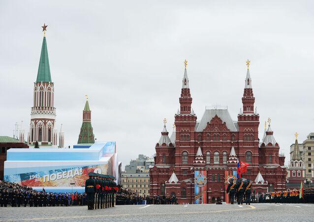 Přehlídka v Moskvě