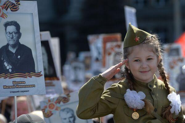 Nesmrtelný pluk v Rusku a v zahraničí - Sputnik Česká republika