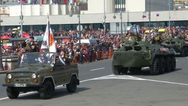 Přehlídka vítězství ve Vladivostoku - Sputnik Česká republika