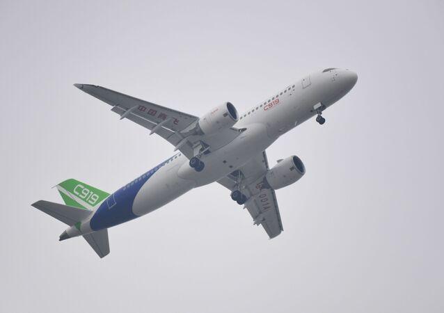 Čínské magistrální letadlo S919