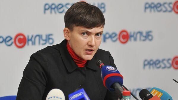 Poslankyně Nejvyšší rady Naděžda Savčenkovová - Sputnik Česká republika