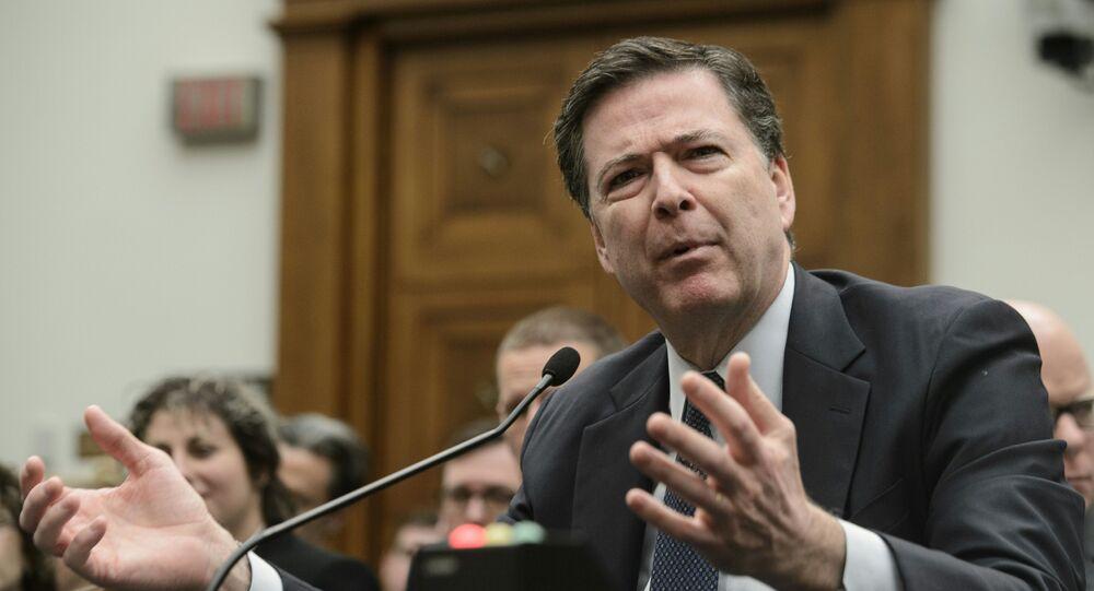 Uvolněný z funkce ředitele FBI James Comey
