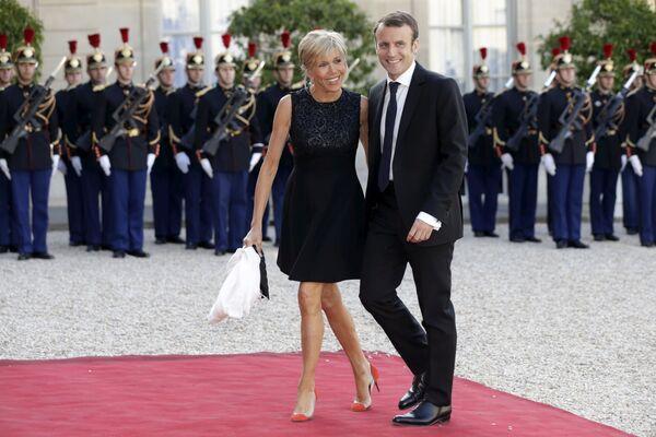 Nová první dáma Francie Brigitte Macronová - Sputnik Česká republika