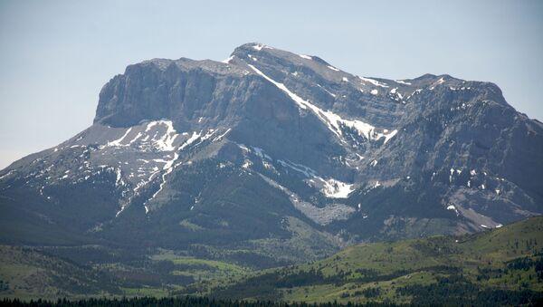 Hory v americké Montaně - Sputnik Česká republika